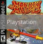 Image of Monkey Magic original video game for Playstation classic game system. Rocket City Arcade, Huntsville Al. We ship used video games Nationwide
