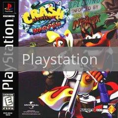 Image of Crash Bandicoot Warped original video game for Playstation classic game system. Rocket City Arcade, Huntsville Al. We ship used video games Nationwide