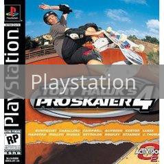 Image of Tony Hawk 4 original video game for Playstation classic game system. Rocket City Arcade, Huntsville Al. We ship used video games Nationwide