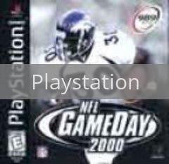 Image of NFL Gameday 2000 original video game for Playstation classic game system. Rocket City Arcade, Huntsville Al. We ship used video games Nationwide