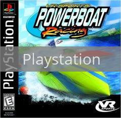 Image of VR Sports Powerboat Racing original video game for Playstation classic game system. Rocket City Arcade, Huntsville Al. We ship used video games Nationwide