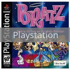 Image of Bratz original video game for Playstation classic game system. Rocket City Arcade, Huntsville Al. We ship used video games Nationwide