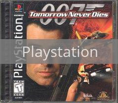 Image of Tomorrow Never Dies original video game for Playstation classic game system. Rocket City Arcade, Huntsville Al. We ship used video games Nationwide