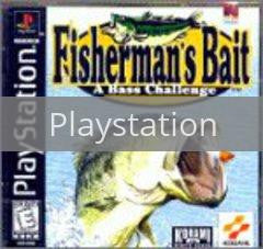 Image of Fisherman's Bait original video game for Playstation classic game system. Rocket City Arcade, Huntsville Al. We ship used video games Nationwide