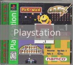 Image of Namco Museum Volume 1 original video game for Playstation classic game system. Rocket City Arcade, Huntsville Al. We ship used video games Nationwide