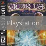 Image of Sorcerer's Maze original video game for Playstation classic game system. Rocket City Arcade, Huntsville Al. We ship used video games Nationwide