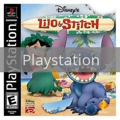 Image of Lilo and Stitch original video game for Playstation classic game system. Rocket City Arcade, Huntsville Al. We ship used video games Nationwide