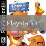 Image of Tigger's Honey Hunt original video game for Playstation classic game system. Rocket City Arcade, Huntsville Al. We ship used video games Nationwide