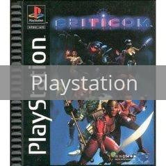 Image of Criticom original video game for Playstation classic game system. Rocket City Arcade, Huntsville Al. We ship used video games Nationwide
