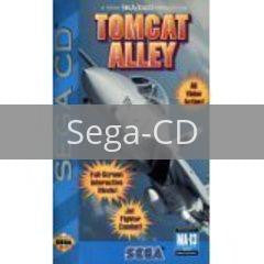 Image of Tomcat Alley original video game for Sega CD classic game system. Rocket City Arcade, Huntsville Al. We ship used video games Nationwide