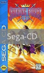 Image of Shining Force CD original video game for Sega CD classic game system. Rocket City Arcade, Huntsville Al. We ship used video games Nationwide