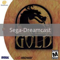 Image of Mortal Kombat Gold original video game for Sega Dreamcast classic game system. Rocket City Arcade, Huntsville Al. We ship used video games Nationwide