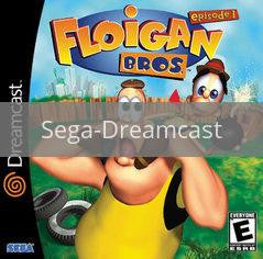 Image of Floigan Brothers original video game for Sega Dreamcast classic game system. Rocket City Arcade, Huntsville Al. We ship used video games Nationwide