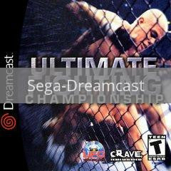 Image of Ultimate Fighting Championship original video game for Sega Dreamcast classic game system. Rocket City Arcade, Huntsville Al. We ship used video games Nationwide