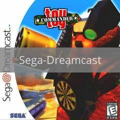 Image of Toy Commander original video game for Sega Dreamcast classic game system. Rocket City Arcade, Huntsville Al. We ship used video games Nationwide