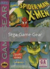 Image of Spiderman X-Men Arcade's Revenge original video game for Sega Game Gear classic game system. Rocket City Arcade, Huntsville Al. We ship used video games Nationwide