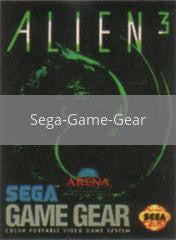 Image of Alien 3 original video game for Sega Game Gear classic game system. Rocket City Arcade, Huntsville Al. We ship used video games Nationwide