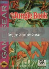 Image of Jungle Book original video game for Sega Game Gear classic game system. Rocket City Arcade, Huntsville Al. We ship used video games Nationwide