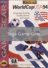 Image of World Cup USA 94 original video game for Sega Game Gear classic game system. Rocket City Arcade, Huntsville Al. We ship used video games Nationwide