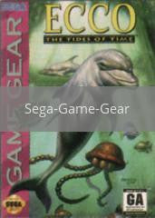 Image of Ecco the Tides of Time original video game for Sega Game Gear classic game system. Rocket City Arcade, Huntsville Al. We ship used video games Nationwide