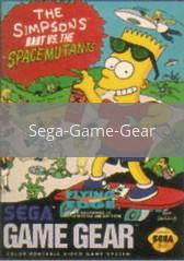 Image of The Simpsons Bart vs the Space Mutants original video game for Sega Game Gear classic game system. Rocket City Arcade, Huntsville Al. We ship used video games Nationwide