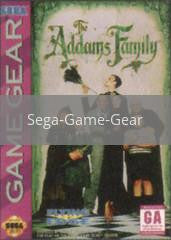 Image of Addams Family original video game for Sega Game Gear classic game system. Rocket City Arcade, Huntsville Al. We ship used video games Nationwide