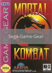 Image of Mortal Kombat original video game for Sega Game Gear classic game system. Rocket City Arcade, Huntsville Al. We ship used video games Nationwide