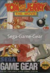 Image of Tom and Jerry the Movie original video game for Sega Game Gear classic game system. Rocket City Arcade, Huntsville Al. We ship used video games Nationwide