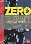 Image of Zero Tolerance original video game for Sega Genesis classic game system. Rocket City Arcade, Huntsville Al. We ship used video games Nationwide
