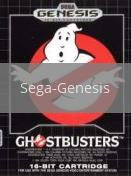 Image of Ghostbusters original video game for Sega Genesis classic game system. Rocket City Arcade, Huntsville Al. We ship used video games Nationwide