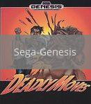 Image of Deadly Moves original video game for Sega Genesis classic game system. Rocket City Arcade, Huntsville Al. We ship used video games Nationwide