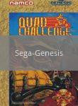 Image of Quad Challenge original video game for Sega Genesis classic game system. Rocket City Arcade, Huntsville Al. We ship used video games Nationwide