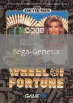 Image of Wheel of Fortune original video game for Sega Genesis classic game system. Rocket City Arcade, Huntsville Al. We ship used video games Nationwide