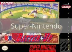 Image of Super Batter Up original video game for Super Nintendo classic game system. Rocket City Arcade, Huntsville Al. We ship used video games Nationwide