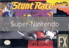 Image of Stunt Race FX original video game for Super Nintendo classic game system. Rocket City Arcade, Huntsville Al. We ship used video games Nationwide