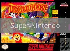Image of Troddlers original video game for Super Nintendo classic game system. Rocket City Arcade, Huntsville Al. We ship used video games Nationwide