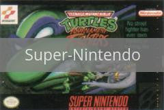 Image of Teenage Mutant Ninja Turtles Tournament Fighters original video game for Super Nintendo classic game system. Rocket City Arcade, Huntsville Al. We ship used video games Nationwide