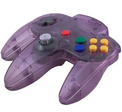 Atomic Purple N64 Controller
