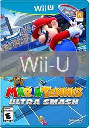 Image of Mario Tennis Ultra Smash original video game for Wii U classic game system. Rocket City Arcade, Huntsville Al. We ship used video games Nationwide