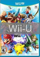 Image of Super Smash Bros. for Wii U original video game for Wii U classic game system. Rocket City Arcade, Huntsville Al. We ship used video games Nationwide