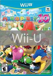 Image of Mario Party 10 original video game for Wii U classic game system. Rocket City Arcade, Huntsville Al. We ship used video games Nationwide