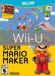 Image of Super Mario Maker original video game for Wii U classic game system. Rocket City Arcade, Huntsville Al. We ship used video games Nationwide
