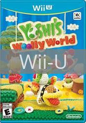 Image of Yoshi's Woolly World original video game for Wii U classic game system. Rocket City Arcade, Huntsville Al. We ship used video games Nationwide