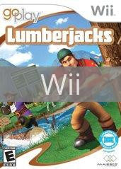 Image of Go Play Lumberjacks original video game for Wii classic game system. Rocket City Arcade, Huntsville Al. We ship used video games Nationwide