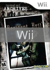 Image of Resident Evil Archives: Resident Evil original video game for Wii classic game system. Rocket City Arcade, Huntsville Al. We ship used video games Nationwide