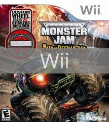 Monster Jam: Path of Destruction with Wheel