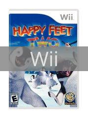 Image of Happy Feet Two original video game for Wii classic game system. Rocket City Arcade, Huntsville Al. We ship used video games Nationwide