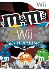 Image of M&M's Kart Racing original video game for Wii classic game system. Rocket City Arcade, Huntsville Al. We ship used video games Nationwide