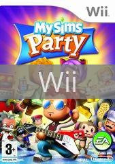 Image of MySims Party original video game for Wii classic game system. Rocket City Arcade, Huntsville Al. We ship used video games Nationwide