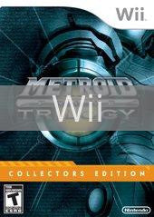 Image of Metroid Prime Trilogy Collector's Edition original video game for Wii classic game system. Rocket City Arcade, Huntsville Al. We ship used video games Nationwide